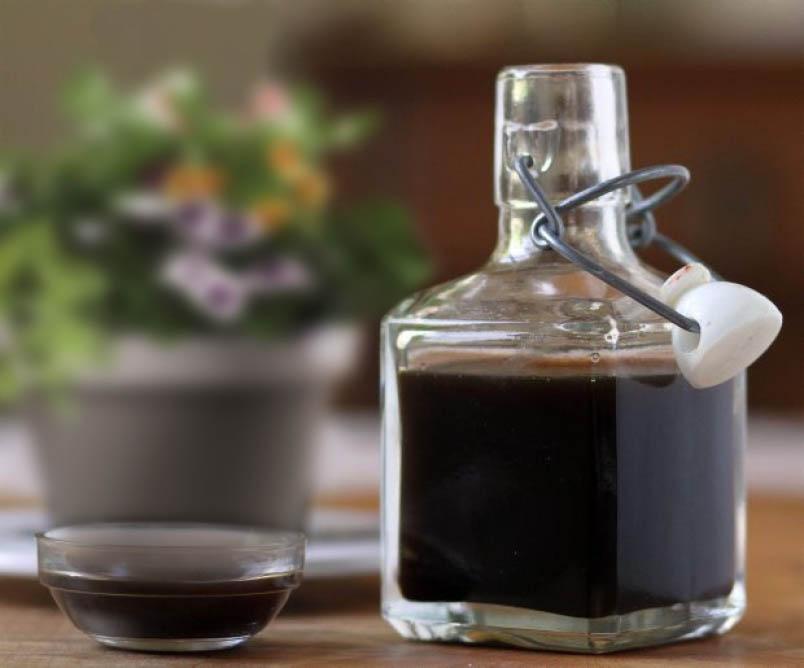 vinaigre balsamique de Modène, Amour d'ail