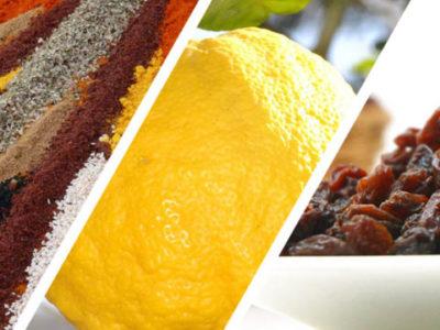 Citron bio, raisins & épices