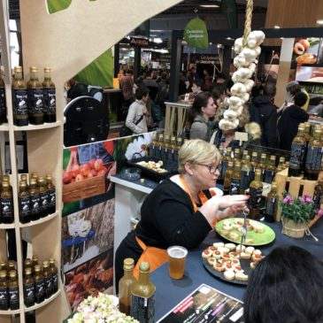 Amour d'ail au salon international de l'agriculture 2020, à Paris.